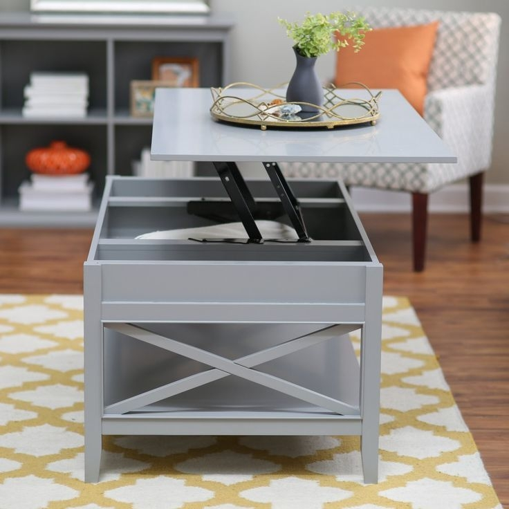 Brilliant Fashionable Rising Coffee Tables With Regard To Stunning Raising Coffee Table How To Make A Coffee Table With Lift (Image 11 of 50)