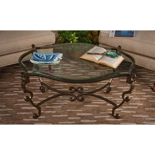 Brilliant Fashionable Spiral Glass Coffee Table Intended For Bronze Accent Tables Bellacor (View 10 of 50)