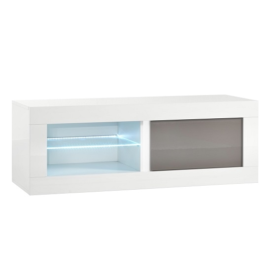Brilliant Fashionable TV Stands 100cm With Gloss Tv Stands Gloss Tv Unit Furniture In Fashion (Image 9 of 50)