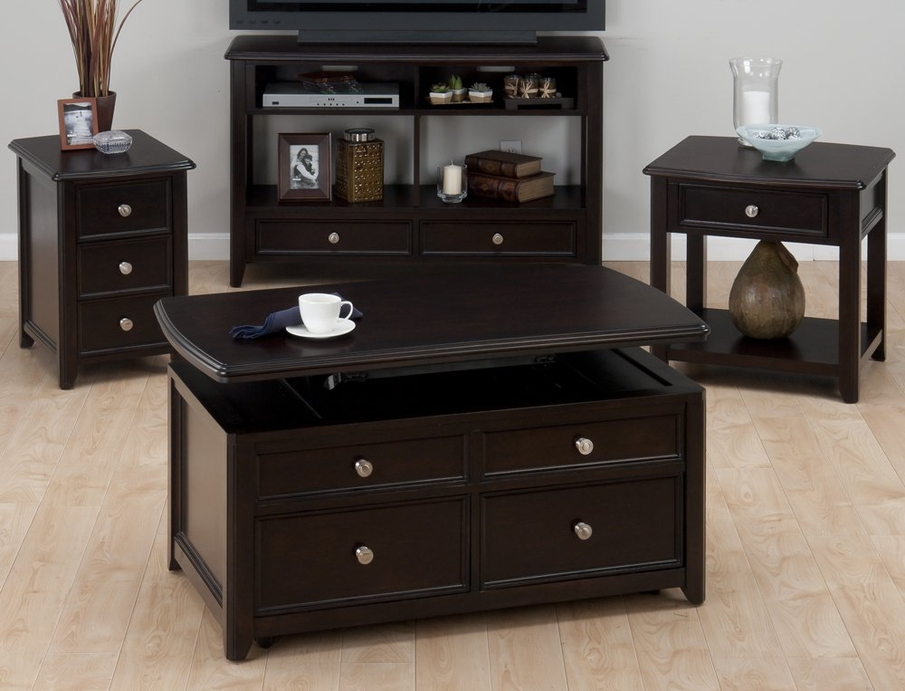 Brilliant Fashionable Waverly Lift Top Coffee Tables With Regard To Mission Solid Wood Lift Top Coffee Table Coffee Tables At (Image 8 of 50)