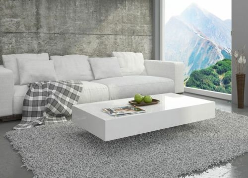 Brilliant Fashionable White Gloss Coffee Tables Intended For Best 25 White Gloss Coffee Table Ideas On Pinterest Table Tops (View 3 of 50)