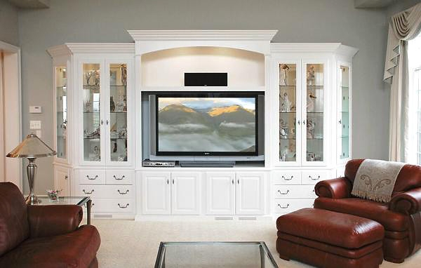 Brilliant Fashionable White Painted TV Cabinets Throughout Painted Tv Entertainment Center (Image 16 of 50)