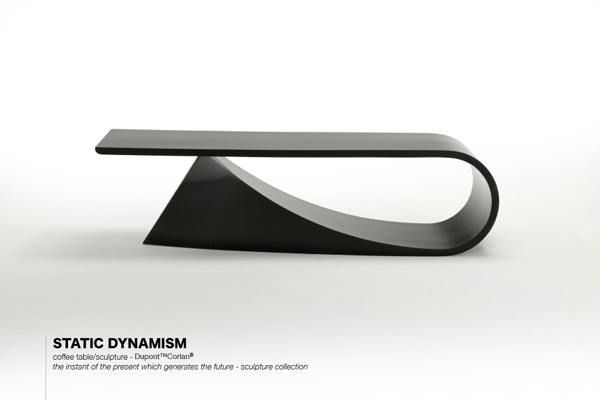 Brilliant Favorite Art Coffee Tables With Static Dynamism Sculpture Coffee Table Contemporary Furniture (Image 9 of 50)