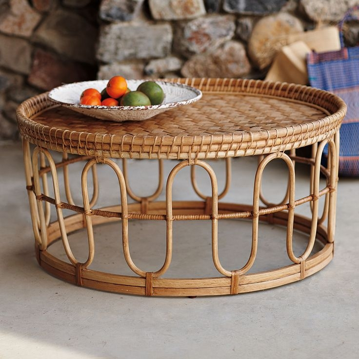 Brilliant Favorite Coffee Table With Wicker Basket Storage Within Best 25 Wicker Coffee Table Ideas On Pinterest Couch Ottoman (Image 9 of 40)