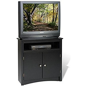 Brilliant Favorite Corner TV Cabinets With Amazon Black Corner Tv Stand Kitchen Dining (Image 9 of 50)