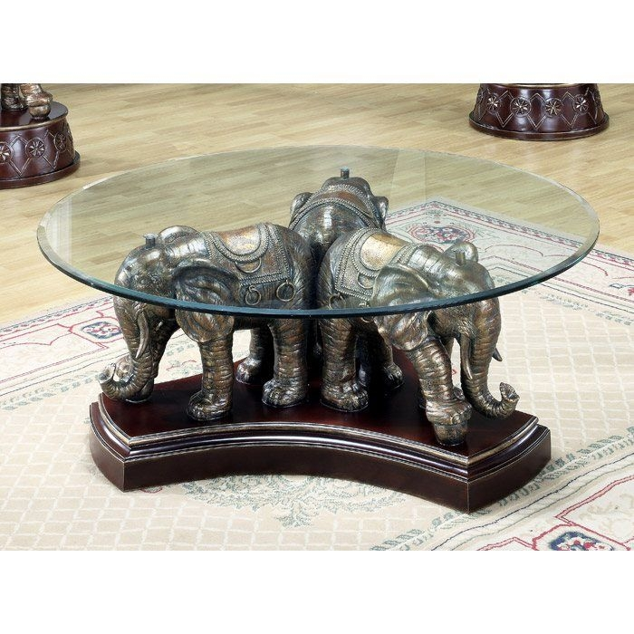 Brilliant Favorite Elephant Coffee Tables For Elephant Glass Coffee Table Idi Design (Image 14 of 50)