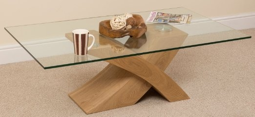 Brilliant Favorite Glass And Oak Coffee Tables Regarding Coffee Table Glass Wood Coffee Table Milano X Glass Wood Coffee (Image 12 of 50)