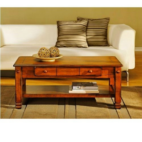 Brilliant Favorite Large Low Oak Coffee Tables For Amazon Summit Mountain Coffee Table Rustic Oak Wood Carved (Image 15 of 50)