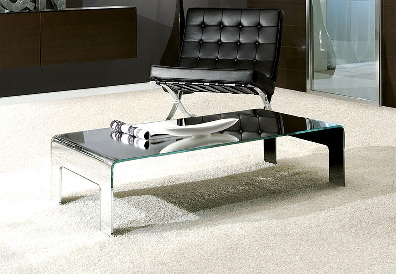Brilliant Favorite Low Glass Coffee Tables Within Wonderful Contemporary Glass Coffee Tables Ideas (Image 11 of 50)