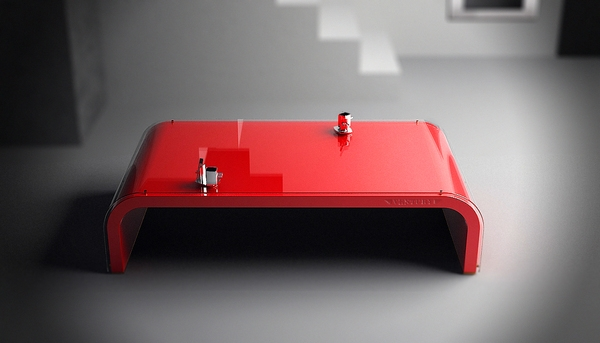 Brilliant Favorite Red Coffee Table Intended For How To Decorate A Living Room With A Red Coffee Table The Home (Image 7 of 50)
