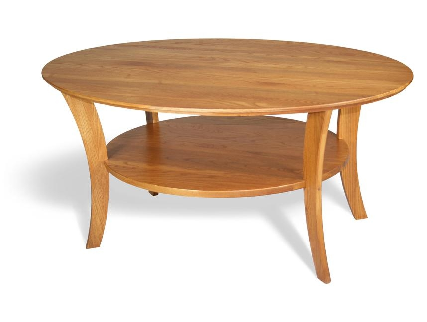 Brilliant Favorite Small Wood Coffee Tables Regarding Oval Wood Coffee Table (Image 13 of 50)