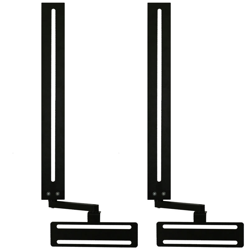 Brilliant Favorite Wall Mount Adjustable TV Stands With Regard To Soundbar Wall Mount Universal Bracket With Depth Adjustment And (Image 14 of 50)