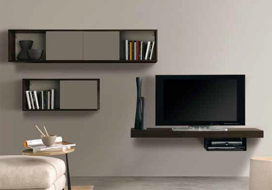 Featured Image of Wall Mounted TV Stands With Shelves