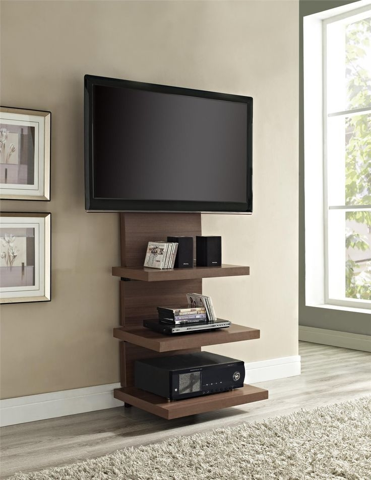 Brilliant Favorite Walnut TV Stands For Flat Screens For Top 25 Best Cool Tv Stands Ideas On Pinterest Farmhouse Cooling (Image 12 of 50)