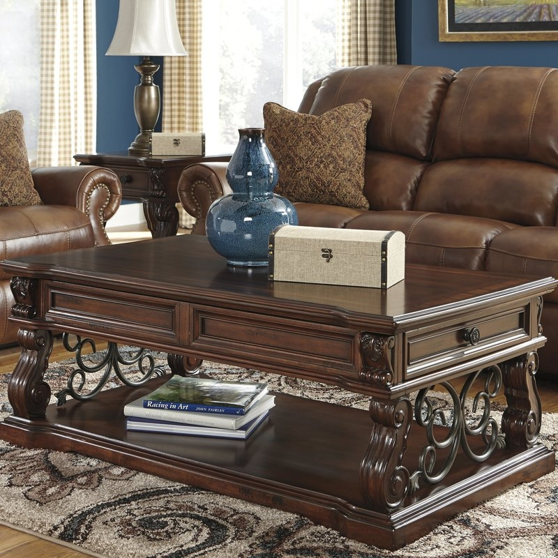 Brilliant Favorite Waverly Lift Top Coffee Tables Regarding Walnut Coffee Tables Youll Love Wayfair (Image 9 of 50)