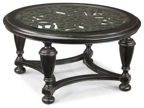 Brilliant Favorite Wrought Iron Coffee Tables In Enchanting Round Wrought Iron Coffee Table Interiorvues (Image 11 of 50)