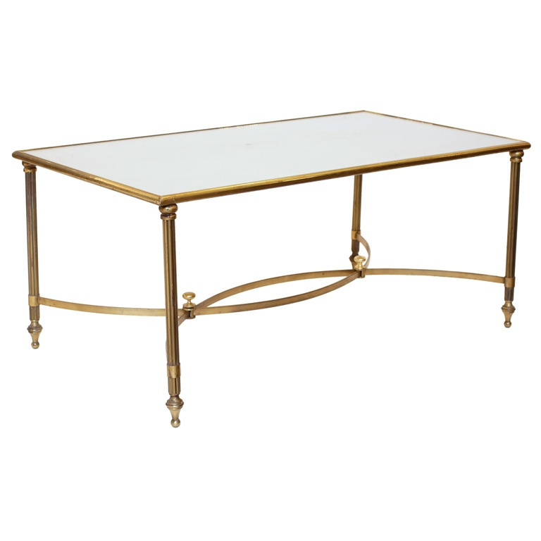Brilliant High Quality Antique Brass Glass Coffee Tables With Regard To Amazing Brass And Glass Coffee Table Coffee Table Pictures (Image 10 of 50)