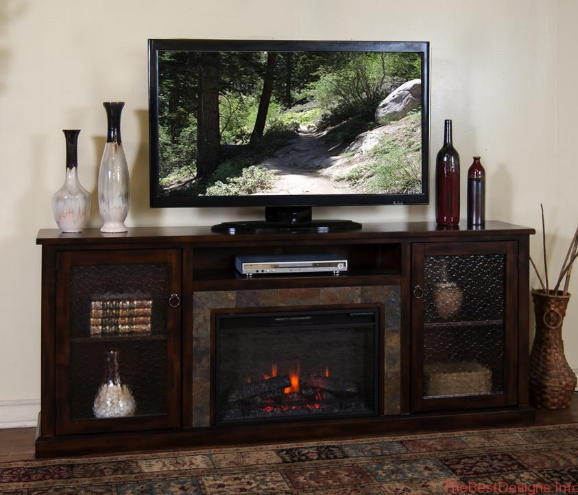 Brilliant High Quality Dark Brown Corner TV Stands Regarding Oak Tv Stand With Glass Doors Un Varnish Teak Wood Media Cabinet (View 27 of 50)