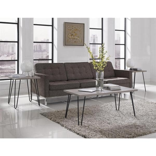 Brilliant High Quality Retro White Coffee Tables With Ameriwood Home Owen Retro Mid Century Style Coffee Table Free (Image 11 of 50)