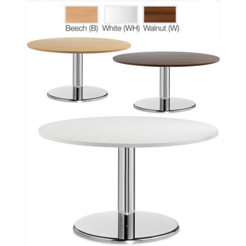 Brilliant High Quality Round Beech Coffee Tables Regarding Komac Reef Round Top Bottom 600mm Diameter Whitebeech Coffee Table (Image 13 of 50)