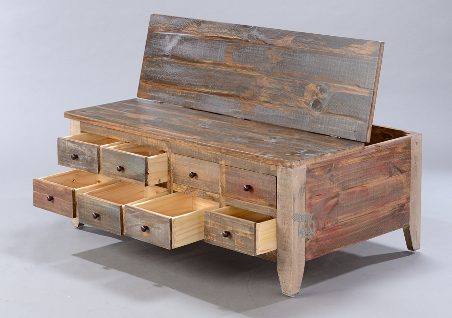 Brilliant High Quality Rustic Coffee Table Drawers In Beautiful Rustic Pine Coffee Table (Image 9 of 50)