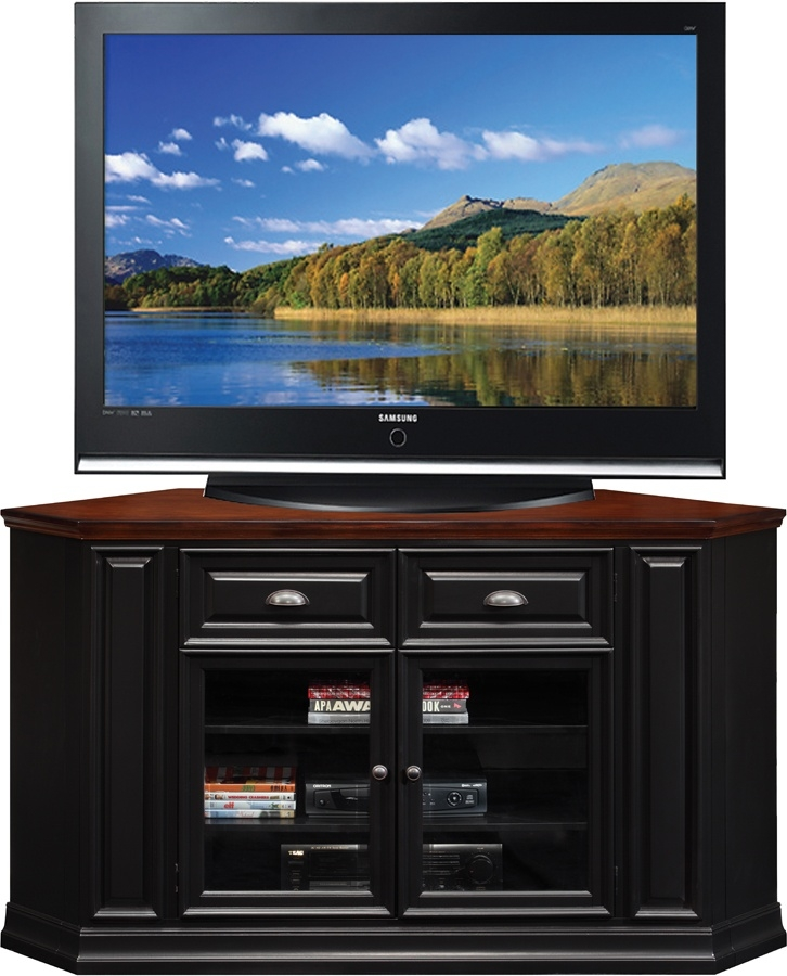 Brilliant High Quality Very Tall TV Stands Within 22 Best Black Corner Tv Stand Images On Pinterest Corner Tv (Image 8 of 50)