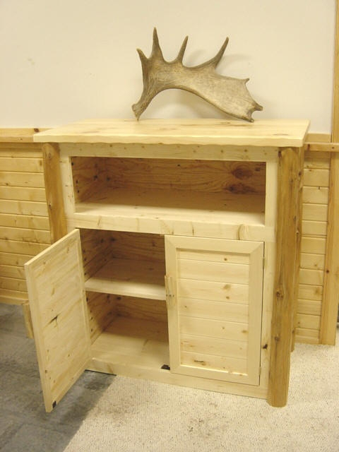 Brilliant High Quality Yellow TV Stands In Log Artistry Log Entertainment Centers And Tv Stands (View 8 of 50)