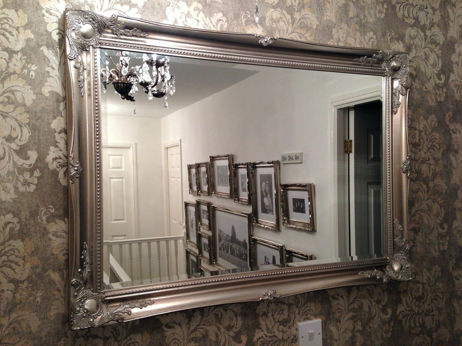 Brilliant Ideas Fancy Wall Mirrors Lovely Idea 23 Decorative For Big Silver Mirror (Image 6 of 20)
