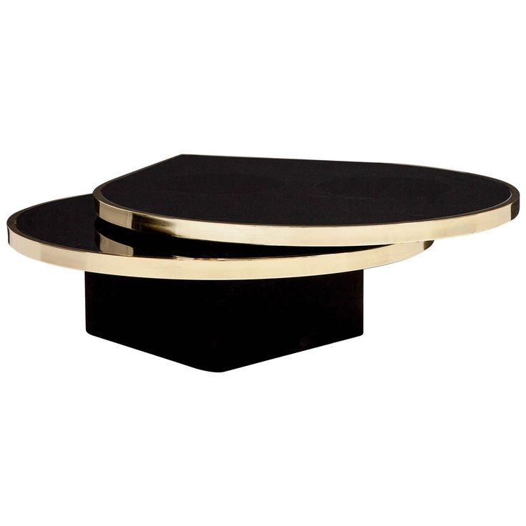 Brilliant Latest Black Glass Coffee Tables  With Regard To 60 Best Black And Gold Coffee Tables Images On Pinterest Coffee (Image 13 of 50)
