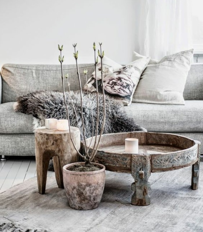 Brilliant Latest Boho Coffee Tables Pertaining To Shab Chic Furniture And Boho Style A Perfect Combination For (Photo 3 of 50)