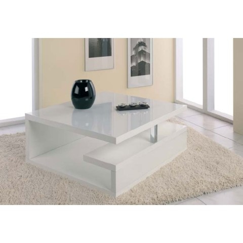 Brilliant Latest Coffee Tables White High Gloss In White Modern Coffee Table (Image 11 of 40)