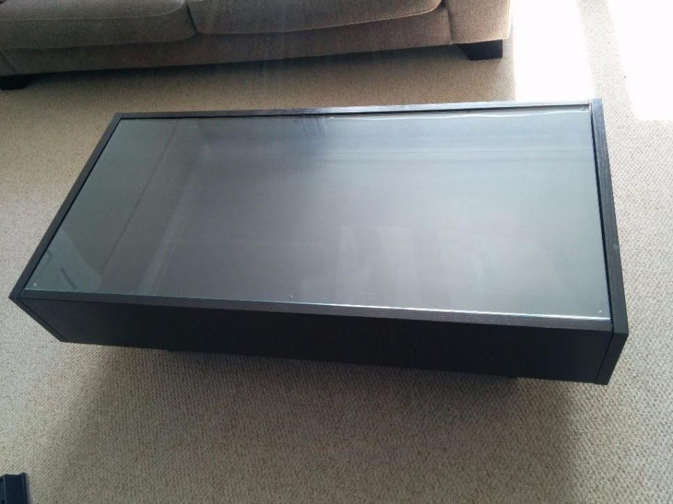 Brilliant Latest Coffee Tables With Glass Top Display Drawer With Regard To Coffee Table Glass Top Display Drawer Coffee Table Design Ideas (Image 9 of 40)