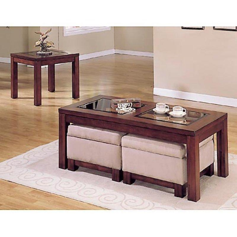 Brilliant Latest Coffee Tables With Seating And Storage Within Coffee Table With Storage Ottomans Underneath (Image 18 of 50)