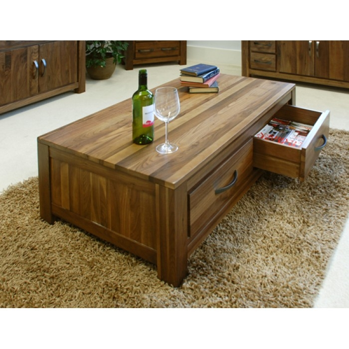 Brilliant Latest Dark Wood Coffee Table Storages Pertaining To Coffee Table Dark Wood Low Drawers Buy Online Quality (Image 8 of 50)