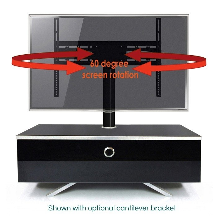 Brilliant Latest Ovid TV Stands Black For Black Tv Stands Uk Tv Cabinets And Furniture (Image 9 of 50)