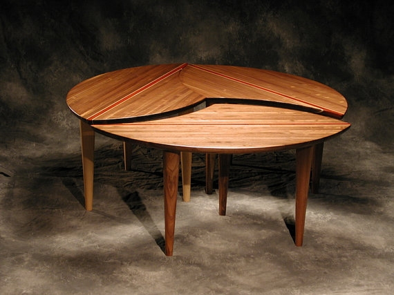 Brilliant Latest Puzzle Coffee Tables Regarding Sectional Coffee Table 3 Piece Solid Hardwood 43 Round (Image 10 of 40)