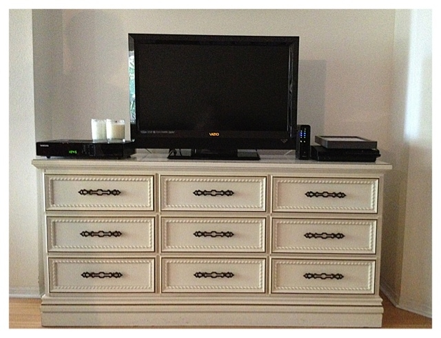 Brilliant Latest Small TV Stands For Top Of Dresser Regarding Dressers Design Inspiration Best Dresser Top Tv Stand Items (Image 11 of 50)