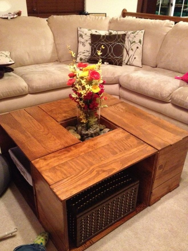 Brilliant Latest Square Coffee Tables With Storage In Square Coffee Tables With Storage (View 2 of 50)