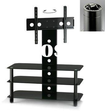 Brilliant Latest Swivel Black Glass TV Stands With Glass Swivel Tv Stand Glass Swivel Tv Stand Manufacturers In (View 43 of 50)
