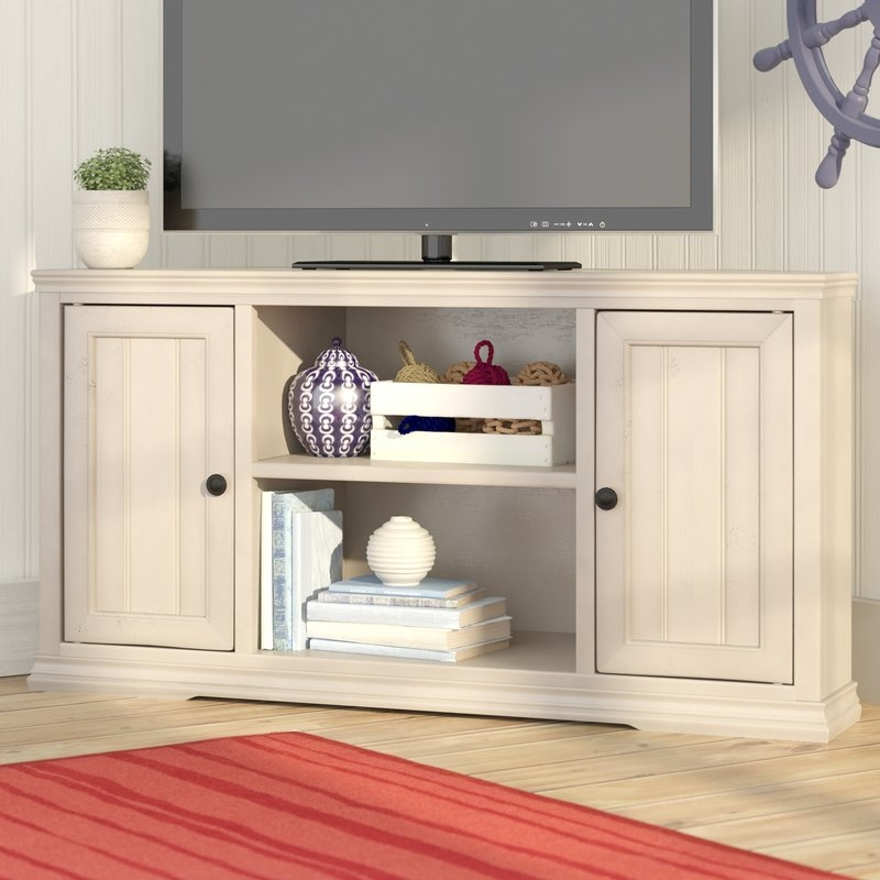 Brilliant Latest Wayfair Corner TV Stands Pertaining To Breakwater Bay Rehoboth Corner 50 Tv Stand Reviews Wayfair (View 38 of 50)