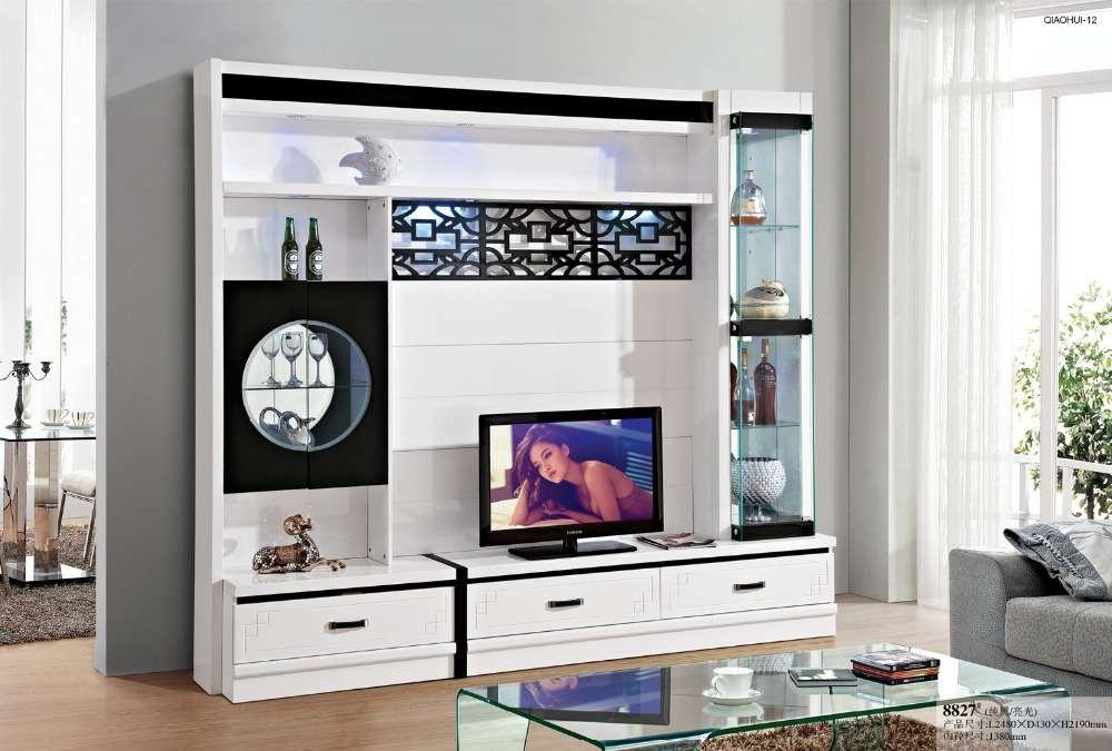 Brilliant Latest White Painted TV Cabinets Inside Cabinet Tool Picture More Detailed Picture About Simple Tv (Image 17 of 50)