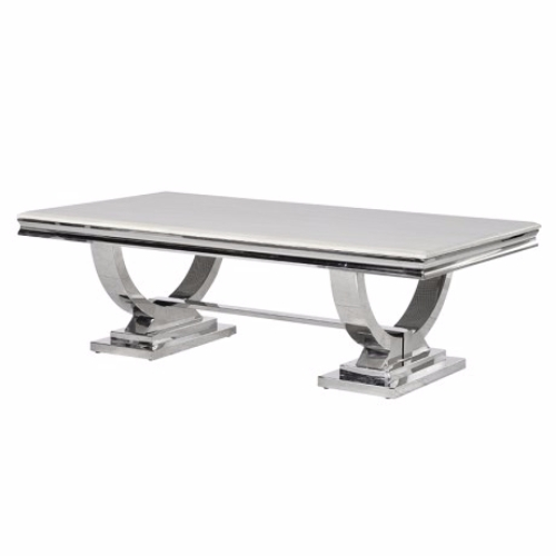 Brilliant New Chrome Leg Coffee Tables Intended For Marble Coffee Table With Chrome Legs (Image 14 of 50)