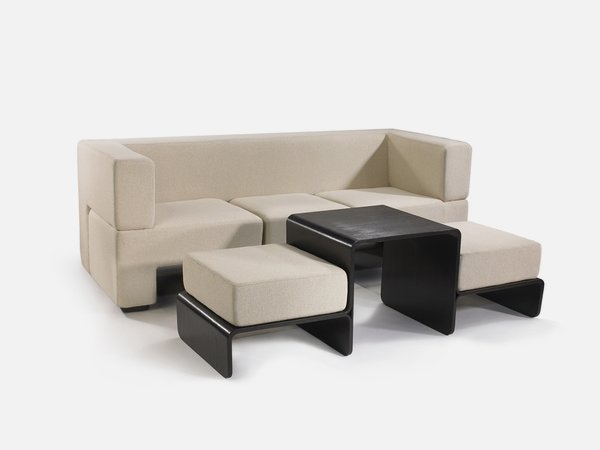 Brilliant New Coffee Table Footrests Throughout Modular Sofa Coffee Table And Footrest In One Furniture Slot (View 4 of 40)