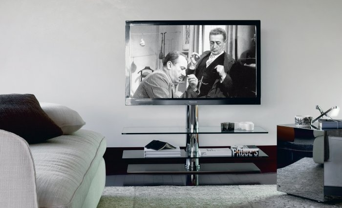 Brilliant New Contemporary Glass TV Stands For Tv Stands Modern And Contemporary Ideas Founterior (Image 14 of 50)