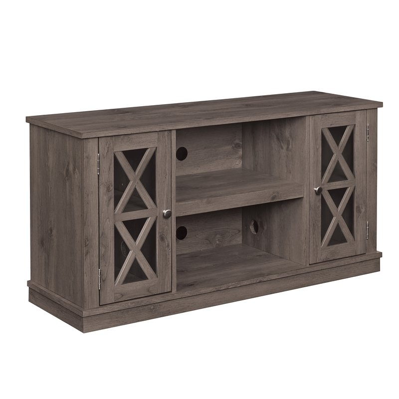 Brilliant New Hardwood TV Stands With Loon Peak Otto 48 Tv Stand Reviews Wayfair (Image 13 of 50)
