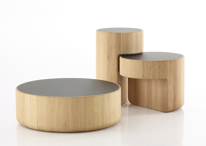 Brilliant New Low Coffee Tables With Levels Three Overlapping Low Coffee Tables Vurni (Image 12 of 40)