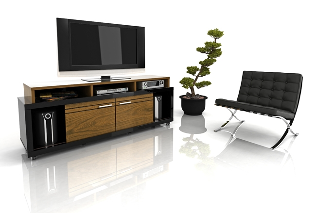 Brilliant New Milano TV Stands With Regard To Modloft Milano Tv Stand Milano Flap Stores (Image 13 of 50)