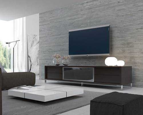 Brilliant New Modern TV Stands For Modern Tv Stand Cream Modern Tv Stands As Entertaining Furniture (View 10 of 50)