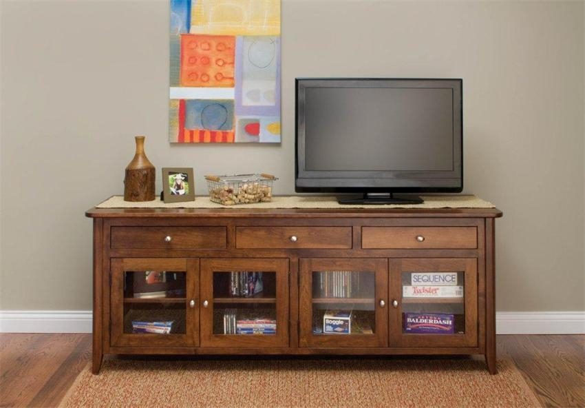 Brilliant New Plasma TV Stands Throughout Springfield Tv Stand With Glass Doors (Image 9 of 50)