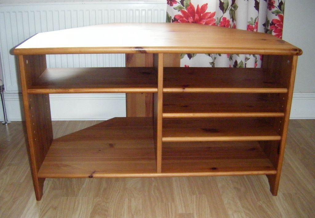 Brilliant New Solid Wood Corner TV Cabinets In Leksvik Tv Cabinet Bar Cabinet (View 2 of 50)